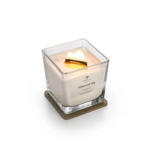 Aromaterapinė Sojų Vaško Žvakė Black Juniper 450g