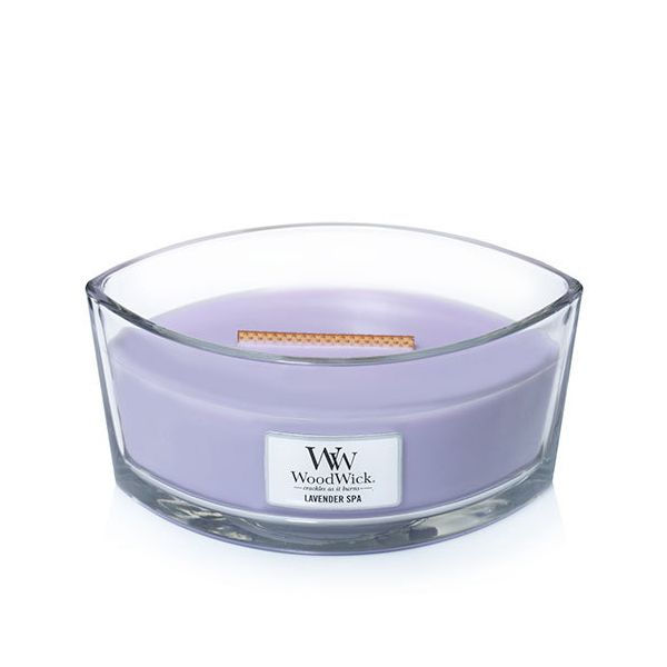 WoodWick ellipse jar Lavender SPA žvakė