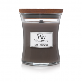 WoodWick Sand & Driftwood žvakė