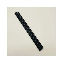"""28 cm """"KRISPO"""" juodos lazdelės namų kvapų difuzoriams"""