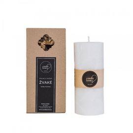 """Candle Family kvepianti palmių vaško žvakė """"Pajūrio KOKOSAI"""" apvali, PKAP"""