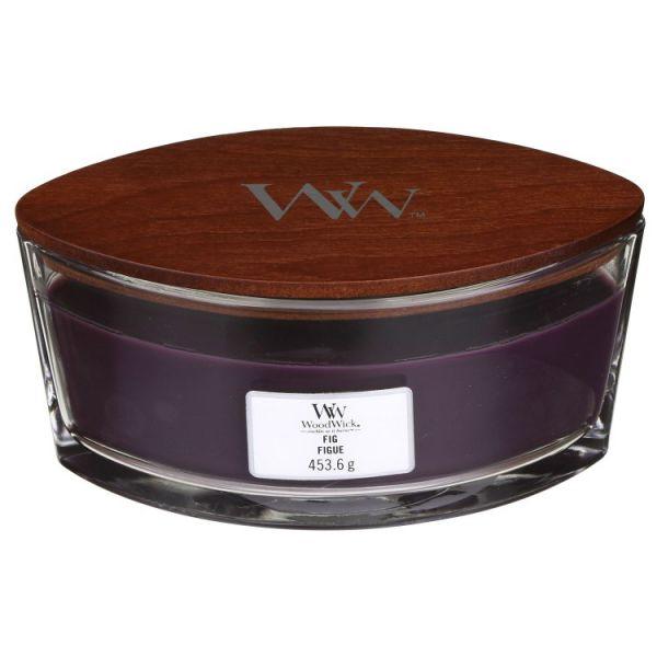 WoodWick ellipse jar fig žvakė
