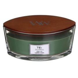 WoodWick Hemp & Ivy žvakė