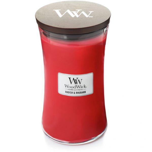 WoodWick Large Radish & Rhubab žvakė