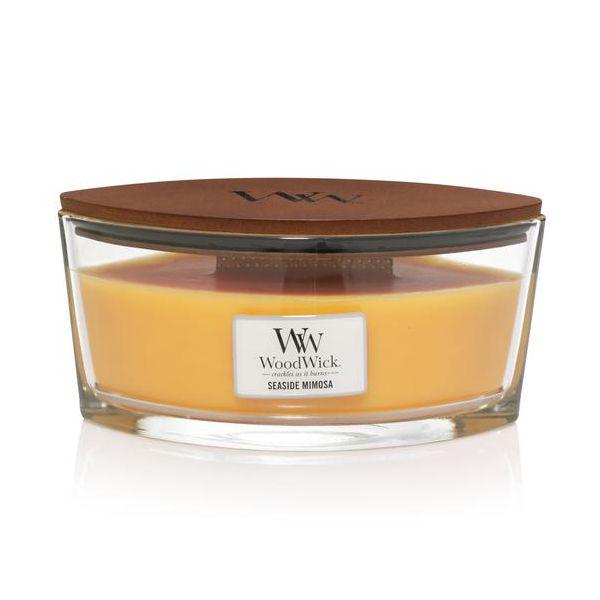 WoodWick Ellipse Seaside Mimosa žvakė