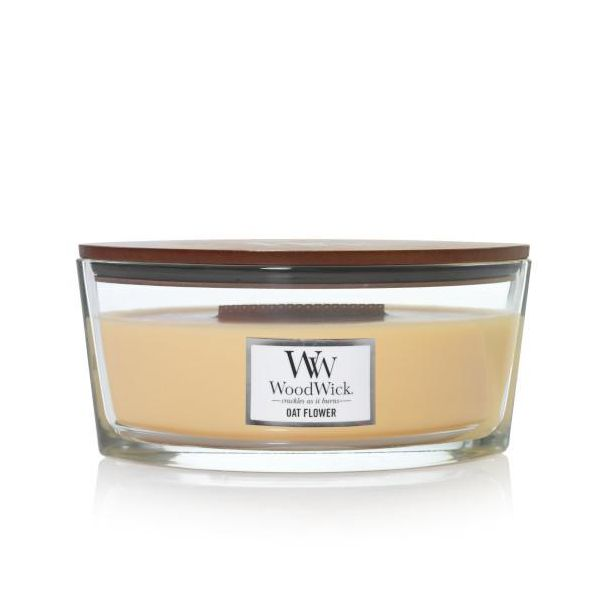 WoodWick Ellipse Oat Flower žvakė