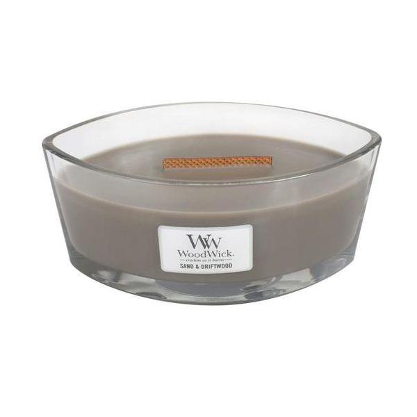 WoodWick Ellipse Sand & Driftwood žvakė
