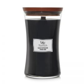 WoodWick large jar Black Peppercorn žvakė