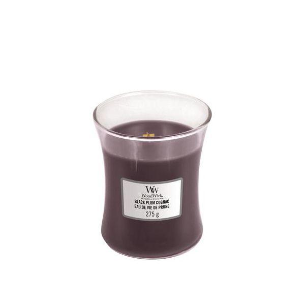 WoodWick Black Plump Cognac žvakė