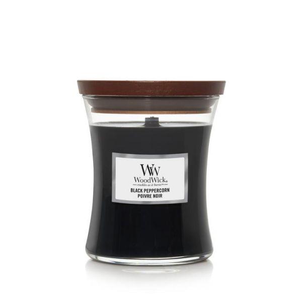 WoodWick Black Peppercorn žvakė
