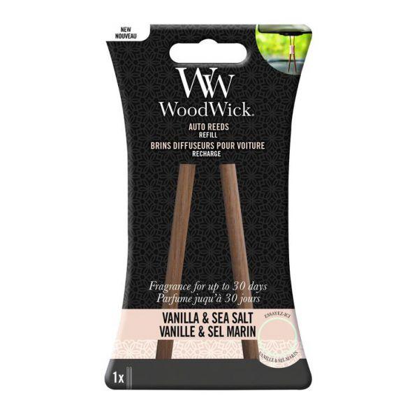 WoodWick Kvapo papildymas automobiliui Vanilla&Sea salt