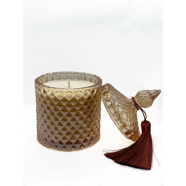 Sojų vaško žvakė Tabakas ir vanilė