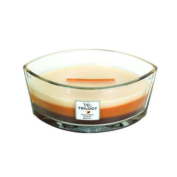 WoodWick Ellipse Trilogy Cafe sweets žvakė