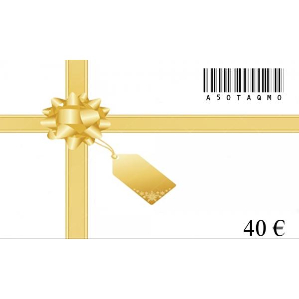 Dovanų kuponas-40