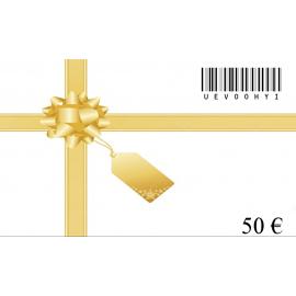 Dovanų kuponas-50