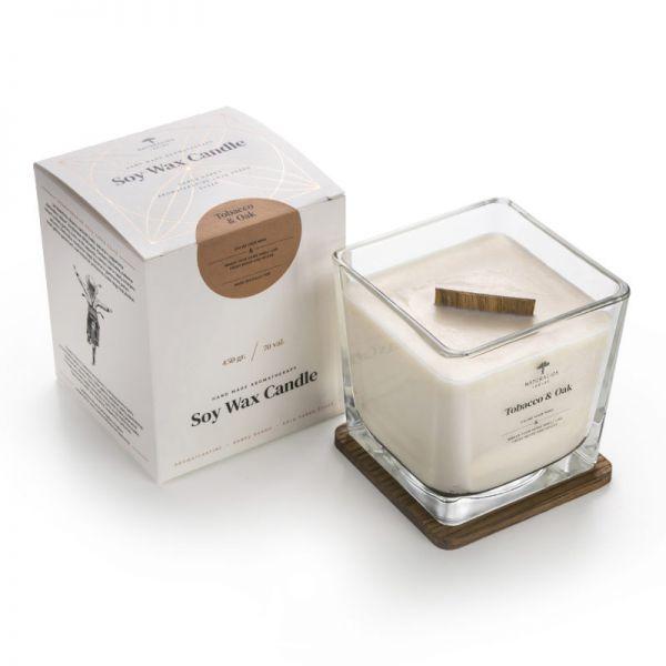 Aromaterapinė Sojų Vaško Žvakė 450g