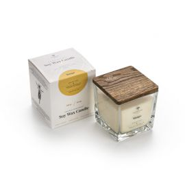 Aromaterapinė Sojų Vaško Žvakė Mango 200g
