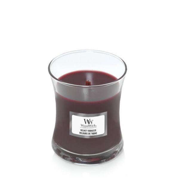 WoodWick mini Velvet Tobacco žvakė