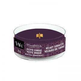 WoodWick Petite Velvet Tobacco žvakė