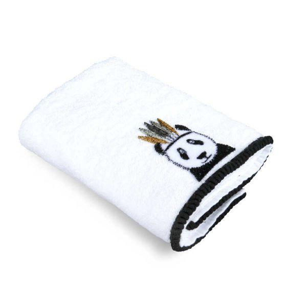 Kilpinis rankšluostis 30x50 Iskandinav Panda