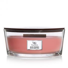 WoodWick Ellipse Melon & Pink quartz žvakė