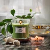 #woodwick žvakučių asortimentas ir vėl papildytas 🕯🍃Woodwick žvakės - tai puikus natūralaus vaško, natūralių kvapų ir užburiančios nuotaikos derinys. Išskirtinė žvakių gaminimo technologija suteikia intensyvų, ilgalaikį ir autentišką kvapą. Dėl savo unikalios gaminimo technologijos, žvakių degimo laikas yra ilgesnis nei įprastų žvakių.https://turkiskatekstile.lt/52-woodwick-prekes