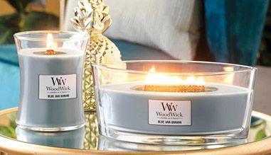 WoodWick aromatinės žvakės